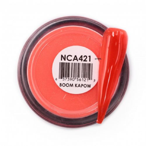 GLAM AND GLITS NAKED COLOR ACRYLIC - NCAC421BOOM KAPOW